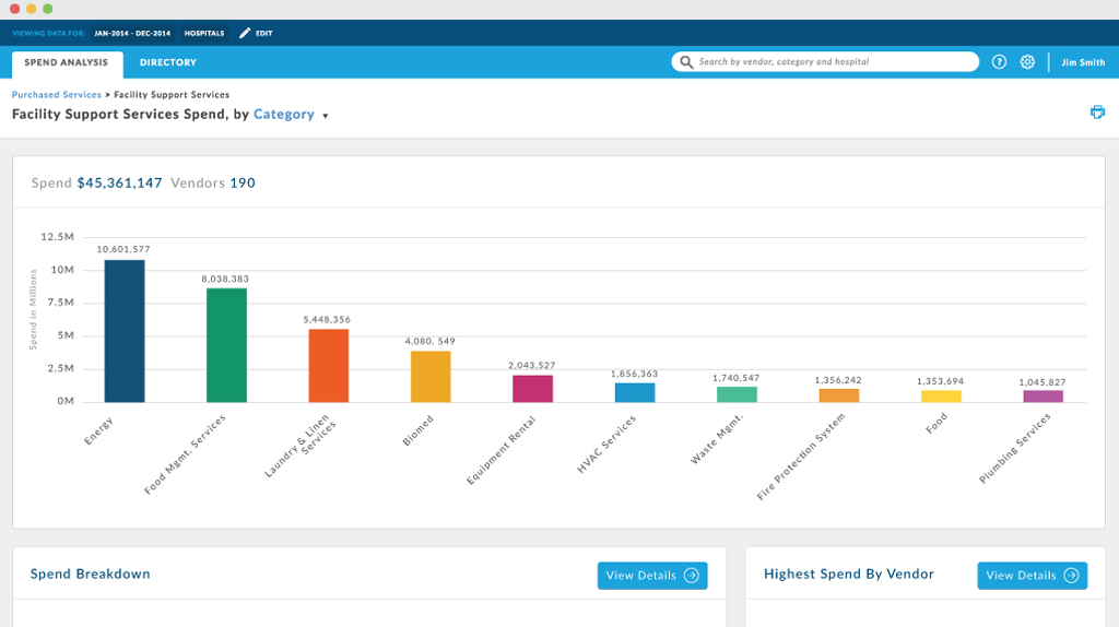Valify Purchased Services Dashboard